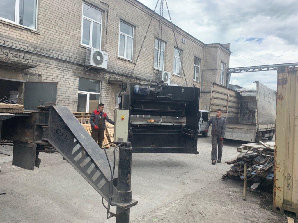 такелажные работы в Запорожье