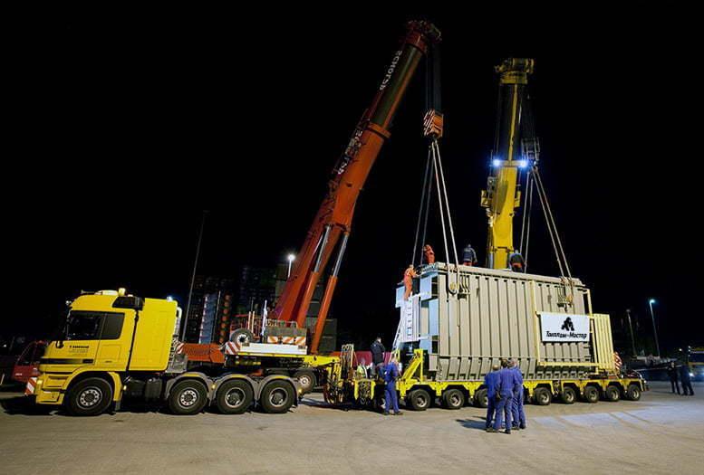 Перевозка силовых трансформаторов и другие такелажные работы в Коростене и по всей Украине