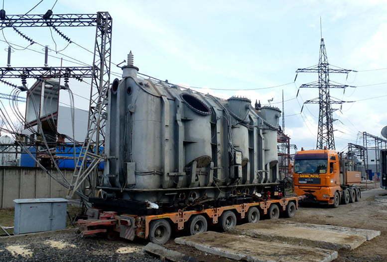 Перевозка трансформаторов в Виннице