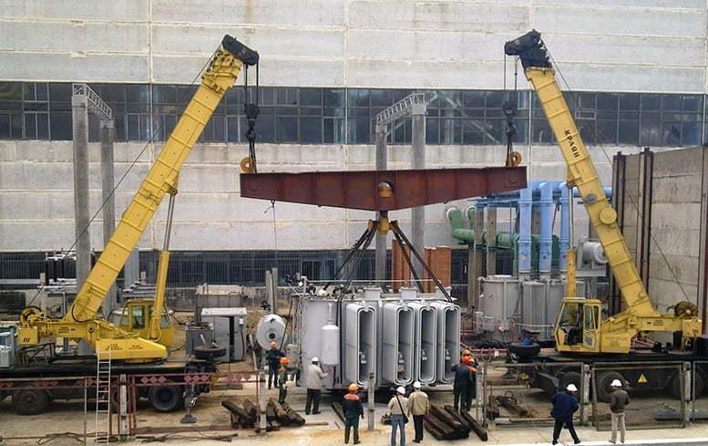 Монтаж трансформаторов в Днепре