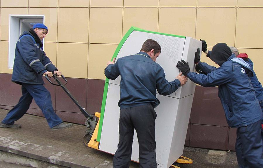 Перевозка Банкоматов и платежных терминалов по всей Украине