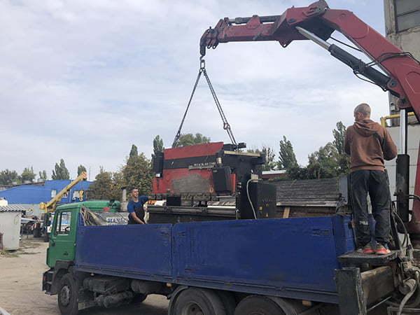 Перевозка станков Харьков