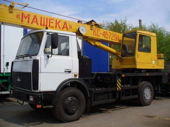 Аренда автокрана МАШЕКА КС-45729 (20т)