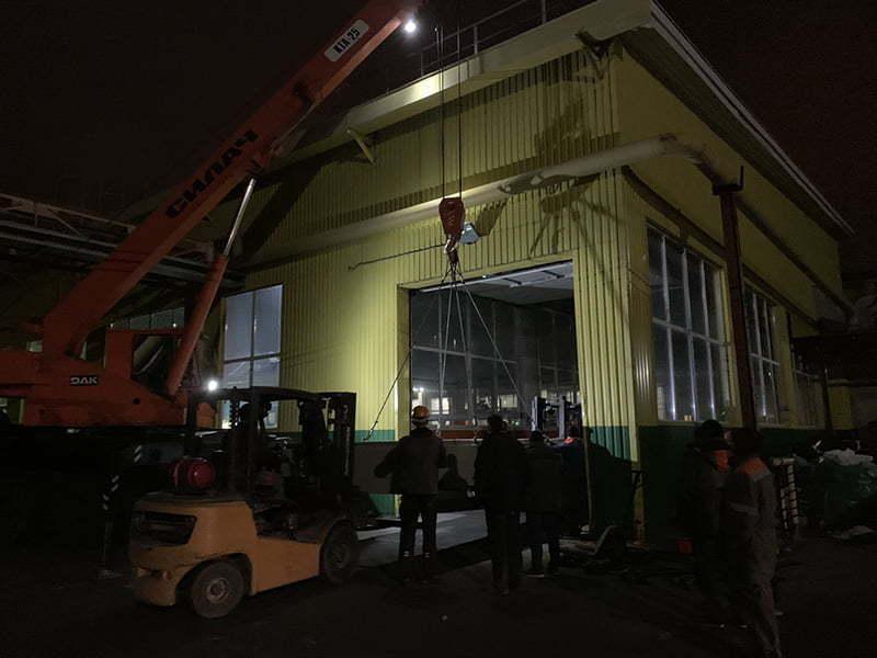 Перевозка станков в Киеве и КО