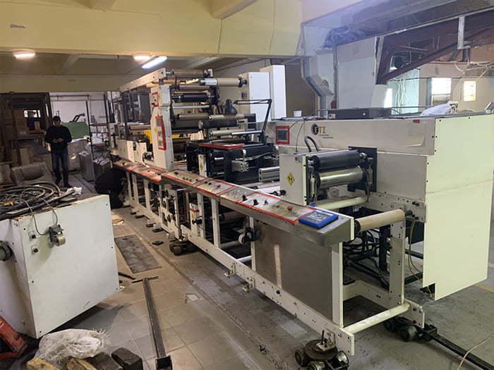 Перевозка Печатного Станка