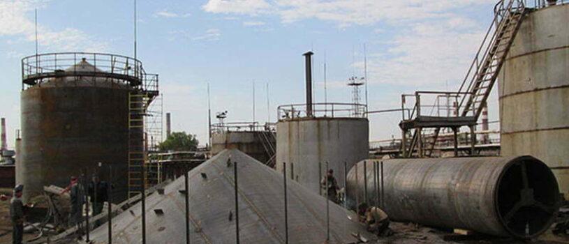 Монтаж (Установка) Резервуаров и Промышленных Емкостей в Одессе